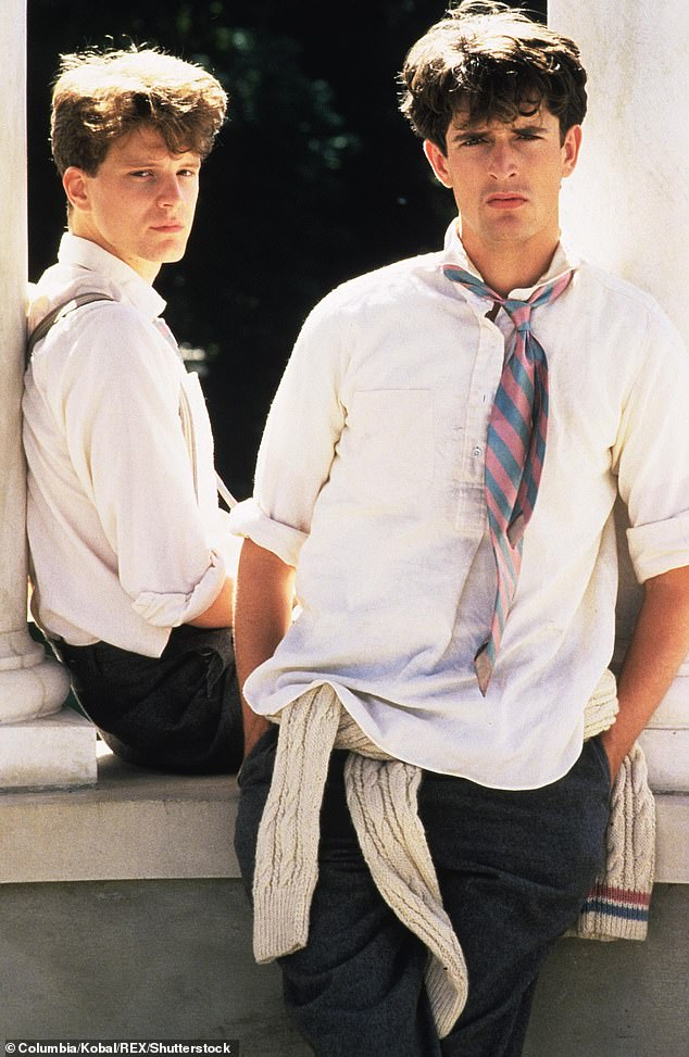 Rupert Everett with Colin Firth in Another Country. At the height of his fame Everett was known for his waspish tongue