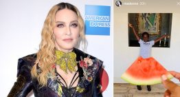 Black Twitter slams Madonna for posting photos of black daughters posing with watermelon slices