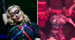 Madonna twerks upside down at riotous World Pride 2019 afterparty