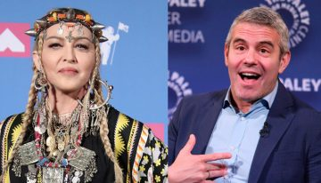 Andy Cohen reveals Polaroid selfie he bought from Madonna for $500