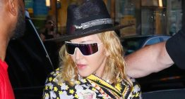 Madonna arrives for first Madame X Tour show in NYC!